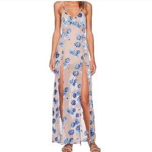 For Love & Lemons Marina Maxi Dress